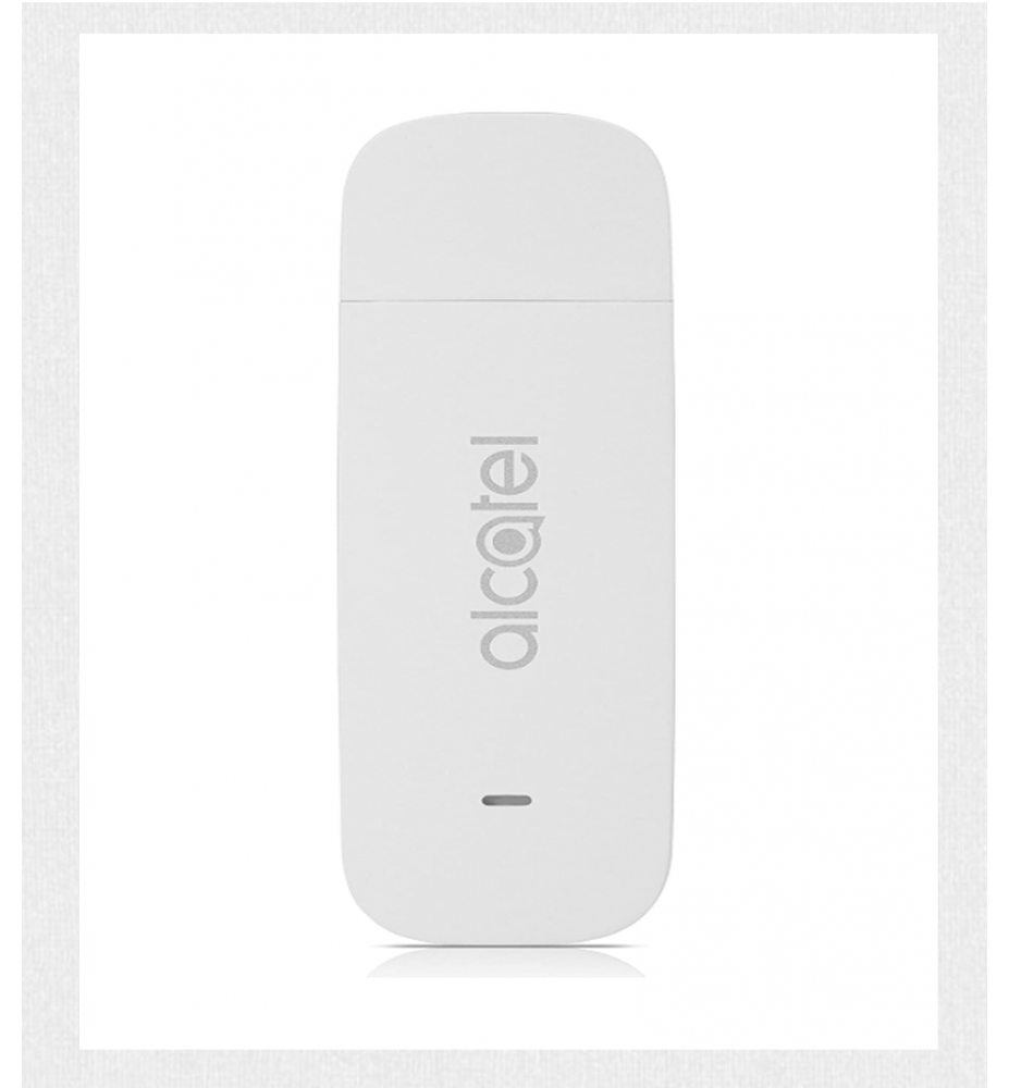 Alcatel Chiavetta Internet White 4G