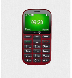 Doro 1361 Red Easy PHone