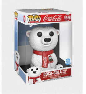 FUNKO POP 58 AD ICONS COCA-COLA POLAR BEAR