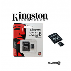 MEMORIA KINGSTON MICROSDHC DA 32 GB CLASSE 10 + ADATTATORE IN BLISTER