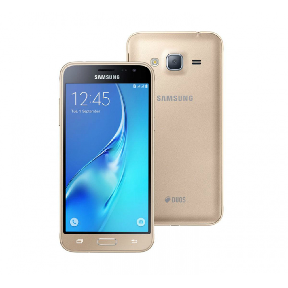 "SAMSUNG GALAXY J3 (6) 5"" 8GB DUAL SIM GOLD"